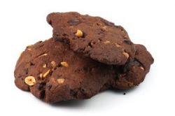 Galletas de chocolate con cacahuete