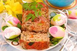 Pudin de ternera y verduras al horno