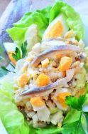 Ensalada con huevo y anchoas