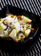 Ensalada de patata y setas