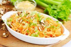 Ensalada de zanahoria con nueces