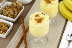 Crema de plátano