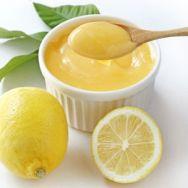 Cuajada casera de limón