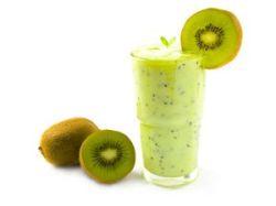 Batido de kiwi y plátano