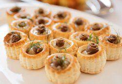 Tartaletas de anchoa y queso