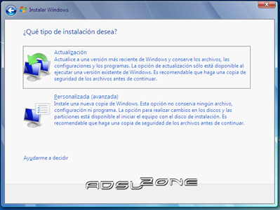 Instalación Windows 7