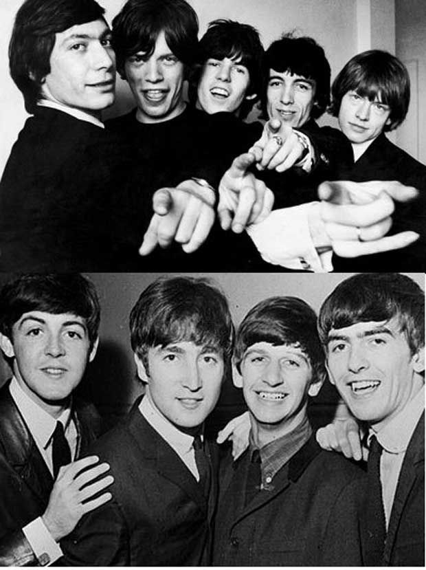 Beatles vs rolling 3
