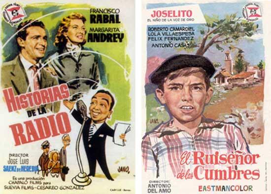 Jano afiches cine