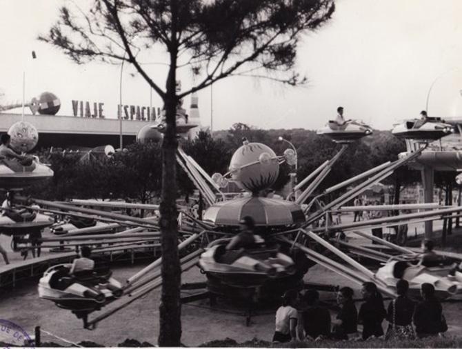 Platillo parque de atracciones