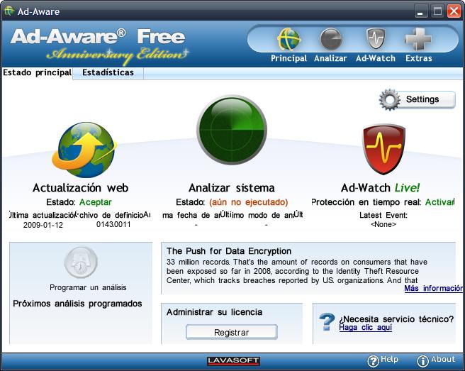 Ad-Aware Anniversary Edition