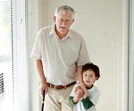 La familia de un enfermo de Alzheimer