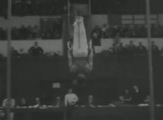 Joaquín Blume, Campeón de Europa de gimnasia. NO-DO 1957