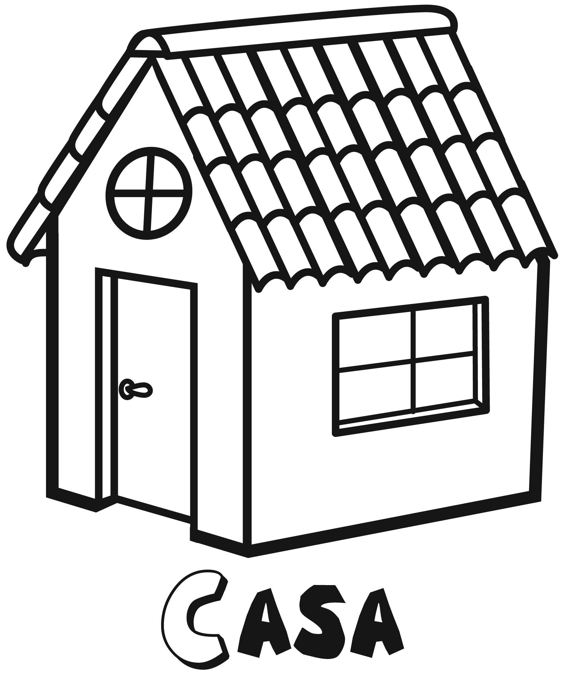 Dibujos de objetos cotidianos. Ocio en casa, Colorear con niños y ...