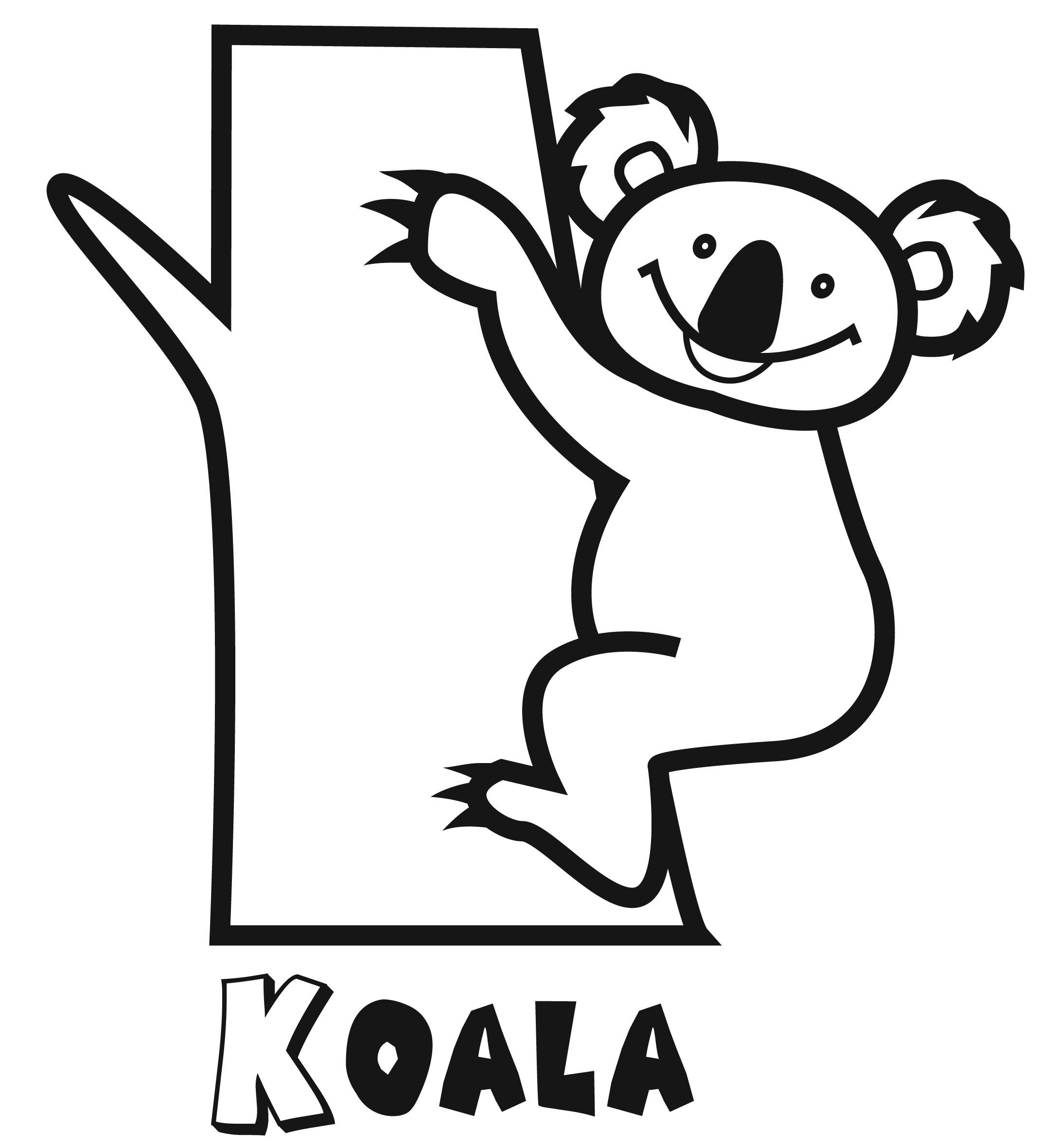 Colorear Koala