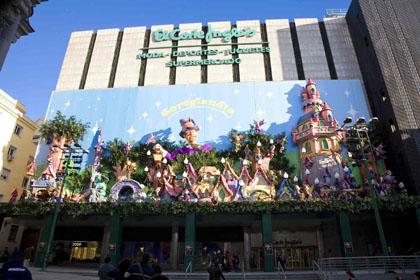 Cortylandia 2008 el corte ingl s de preciados madrid for Corte ingles preciados
